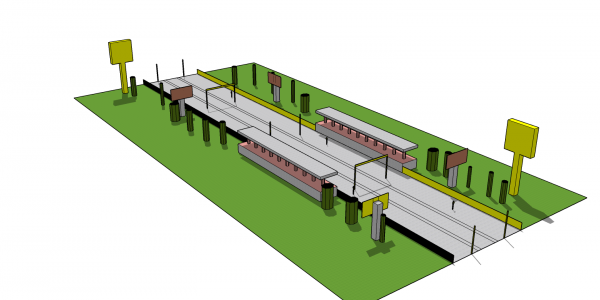High-speed railway module 2