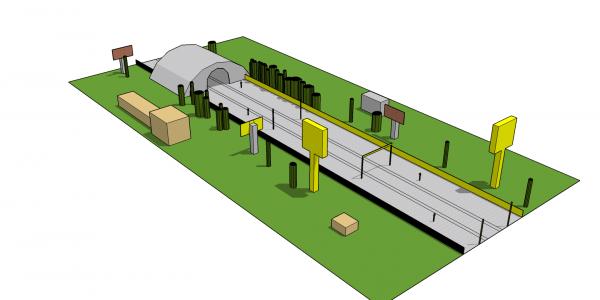 High-speed railway module 4