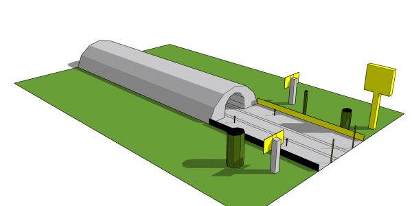 High-speed railway module 5