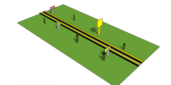 High-speed railway module 6